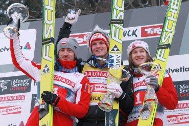 03.01.2011- Podium w Innsbrucku