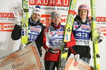 21.01.2011 - podium w Zakopanem