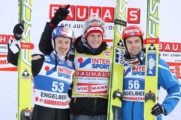 18.12.2010 - Podium w Engelbergu