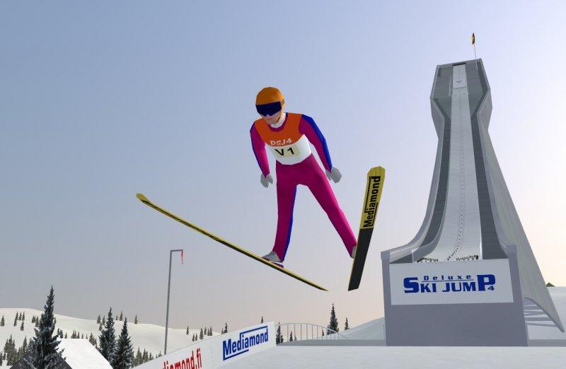 skispringen games