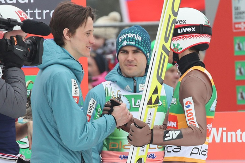 Peter Prevc i Kamil Stoch